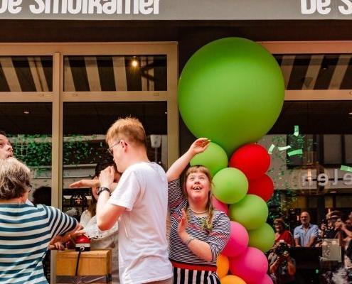 Opening De Smulkamer 25 mei 2018 in Goes en onderdeel van Gors mensgerichte ondersteuning Zeeland